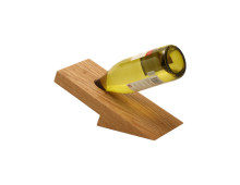Wine bottle holder for one bottle