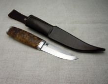Carving puukko with 80 mm blade